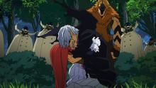 Danjuro Tobita Manami Aiba surrender anime