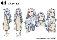 Eri TV Animation Design Sheet