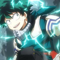 Deku actualmente en el anime