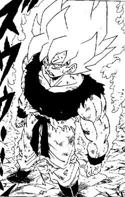 Goku superguerrer manga
