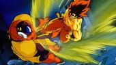 Goku FSG puntada contra Slug