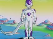 Freezer forma final davant Goku