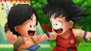 Upa i Goku BDOrigins 2