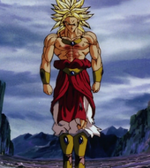 Broly Superguerrer Sencer