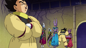 Goku i Vegeta expliquen regles Torneig