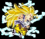 Goku superguerrer 3 nen