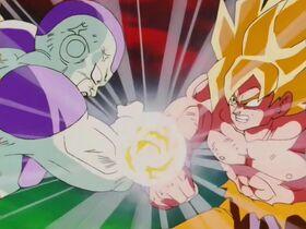 Goku superguerrer vs Freezer