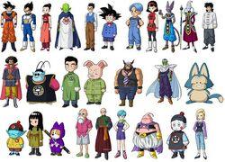 Personatges Batalla dels deus cos sencer