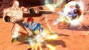 Goku i Guerrer futur vs Nappa i Vegeta
