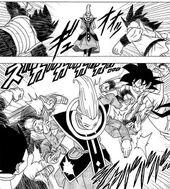 Goku i Vegeta vs Whis