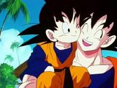 Goten coneix Goku