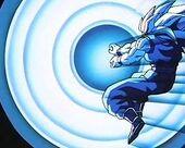 Goku SG3 Kamehameha contra Monstre Buu