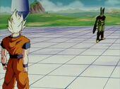 Goku visita Cèl·lula