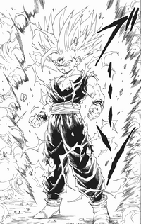 Son Gohan superguerrer 2 manga