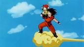 Goku i Gohan al núvol