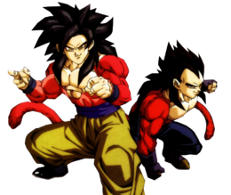 Goku i Vegeta ssj4