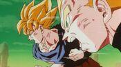 Goku i Vegeta superguerrers vs Metal-Cooler