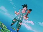 Goku i Uub rient