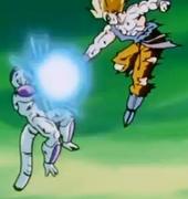 Goku bola contra Freezer