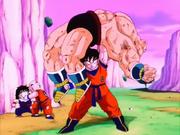 Goku derrota Nappa