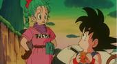 Bulma coneix Goku a peli 1