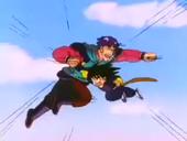 Goku derrota Drac Celeste