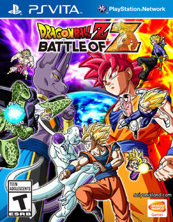 Battle of Z PS Vita