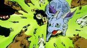 Gohan rodejat d'animals
