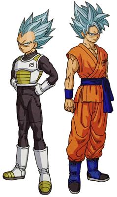 Goku i Vegeta SGDSG
