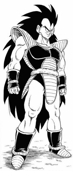 Raditz manga