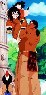 Bora, Yajirobai i Goku