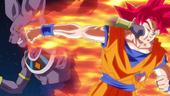 Goku i Bills cop de puny mútu