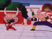 Goku vs Ten Shin Han