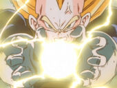 Vegeta carrega Final Flash