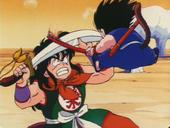 En Yamcha contra en Goku