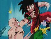 Ten vs Goku cops
