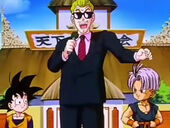 Goten, comentarista i Trunks