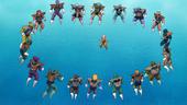 Soldats rodegen Krilin