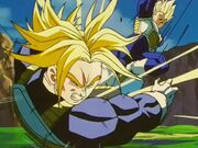 Vegeta vs Trunks