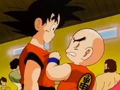 Krilin gelós de Goku