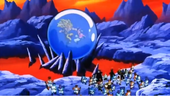 Antagonistes veient combat Goku vs Buu petit