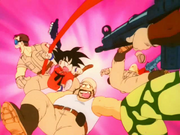 Goku vs Cinta Vermella