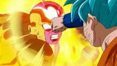 Goku ataca Freezer Daurat puny