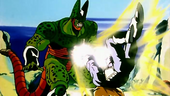 Vegeta superguerrer vs Cèl·lula