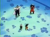 Goku i Cor Petit explicació fusió