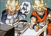 Goku i Vegeta videojoc