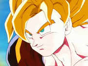 Goku SGMax Poder a punt de lluitar