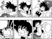 Goku descobreix sexe Bulma