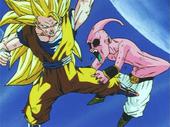 Goku SG3 vs Buu petit