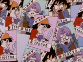 Cartell Goku, Trunks i Pan delinquents